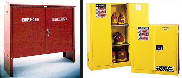 Fire Safety Cabinets And Access Panels For Firefighting Equipment Storage Nice Look